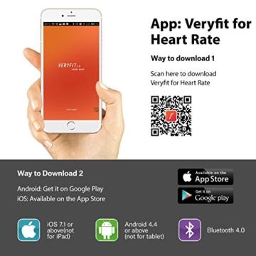 Mpow Bluetooth 4,0 Fitness Armbänder mit Pulsmesser,Smart Fitness Tracker mit Herzfrequenzmesser, Schrittzähler, Schlaf-Monitor, Aktivitätstracker, Remote Shoot, Anrufen / SMS, finden Telefon für Android iOS Smartphone wie iPhone 7/7 Plus/6S/6/6 Plus, Huawei P9. - 9
