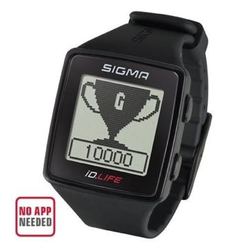 Sigma Sport Pulsuhr iD.LIFE black, Activity Tracker, Handgelenk-Pulsmessung, Schwarz - 3