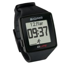 Sigma Sport Pulsuhr iD.LIFE black, Activity Tracker, Handgelenk-Pulsmessung, Schwarz - 1
