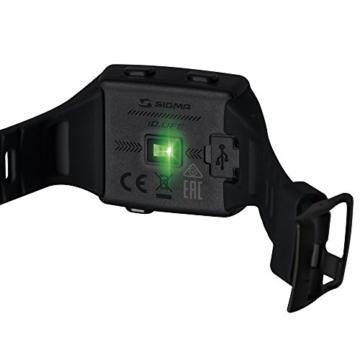 Sigma Sport Pulsuhr iD.LIFE black, Activity Tracker, Handgelenk-Pulsmessung, Schwarz - 4